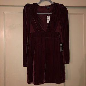 express velvet dress
